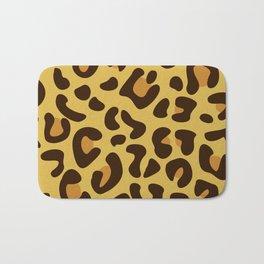 Animal Print Pattern – Leopard 1 Bath Mat
