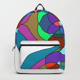 dark colors mandalas Backpack