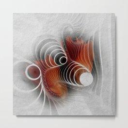 flower design -13- Metal Print
