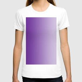 Violet to Pastel Violet Vertical Linear Gradient T-shirt