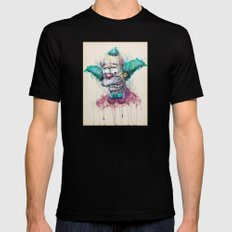 Krusty Mens Fitted Tee MEDIUM Black