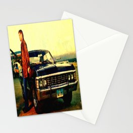 Supernatural Dean Tv Impala Stationery Cards