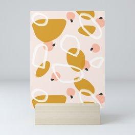 Abstract Fall III #society6 #abstractart Mini Art Print