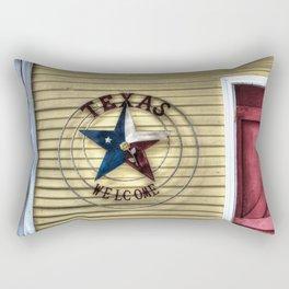 Texas Welcome Rectangular Pillow