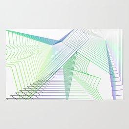 Geometric fantasy Rug