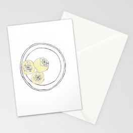 Pen + Ink Persimmons Stationery Cards