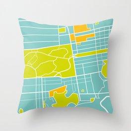 Richmond District Throw Pillow