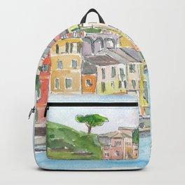 Portofino Ligure Dream Seafront View Backpack