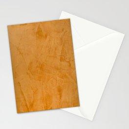 Dante Orange Stucco - Luxury - Rustic - Faux Finishes - Venetian Plaster Stationery Cards