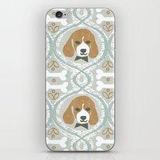 dapperific dog iPhone & iPod Skin