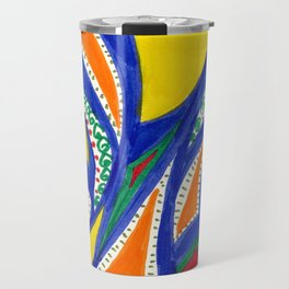 Blue roads Travel Mug