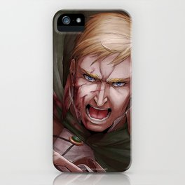 Shingeki no Kyojin - Erwin Smith iPhone Case