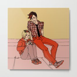 Kuroo & Kenma Metal Print