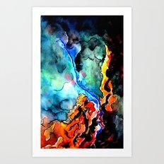 My Celestial Universe Art Print