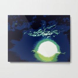 Green Flash Metal Print