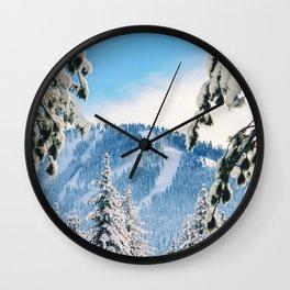 Peer Into Wonderland Wall Clock