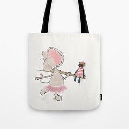 Little Mouse - Ballerina Tote Bag