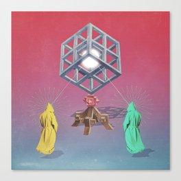 The Deity v01 Canvas Print