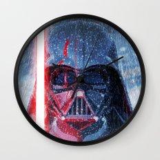 Darth Vader Storm Wall Clock