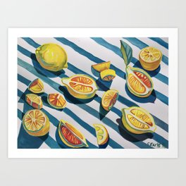 """When life gives you lemons"" Art Print"