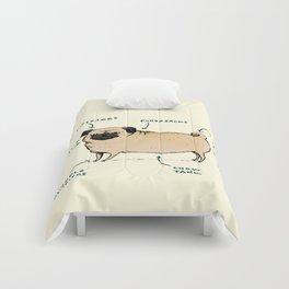 Anatomy of a Pug Comforters
