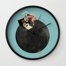 Life on Earth | Collage Wall Clock