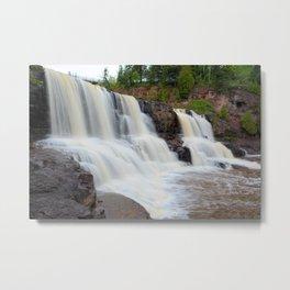 Upper Gooseberry Falls Metal Print