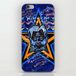Abstract Drug Life iPhone Skin