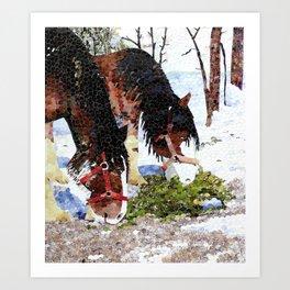 """""""Gentle Giants"""" Art Print"""