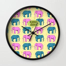 Wanna dance? Wall Clock