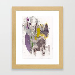 dirty tribune II Framed Art Print