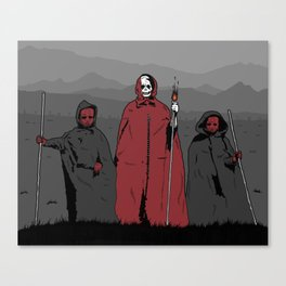 La Muerte Roja Canvas Print