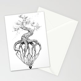 Heart Root Stationery Cards