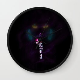 voltron: wandering star Wall Clock