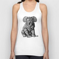 koala Tank Tops featuring Koala by BIOWORKZ
