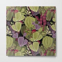 Cacti and succulent Metal Print
