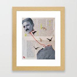 Free Energy Framed Art Print
