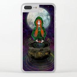 Cerridwen Clear iPhone Case