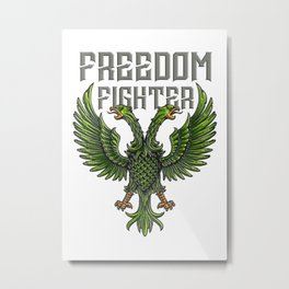 Freedom Fighter Metal Print