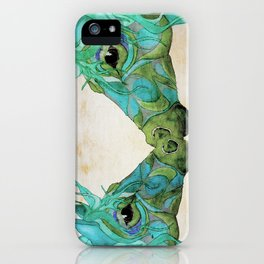 Blue Horses  iPhone Case
