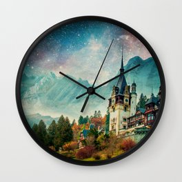 Faerytale Castle Wall Clock