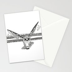 Owl fly you through the night Stationery Cards