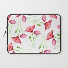 Poppy pattern Laptop Sleeve