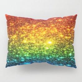 RainBoW Sparkle Stars Pillow Sham