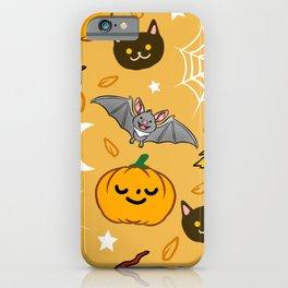 Halloween Pattern Halloween Gift iPhone Case