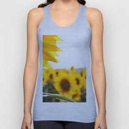 Sunflower's Season (I) Unisex Tank Top