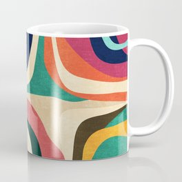 Impossible contour map Coffee Mug