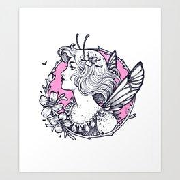 Ink Fairy Art Print