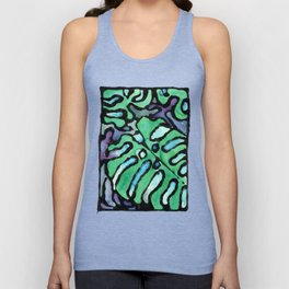 reticulated leaves Unisex Tank Top