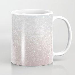 Blush Gray Princess Glitter #1 (Faux Glitter - Photography) #shiny #decor #art #society6 Coffee Mug